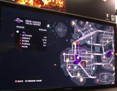 Gat out of Hell Gameplay Demo 0607 Hood - Veiled Sentry (Downtown)