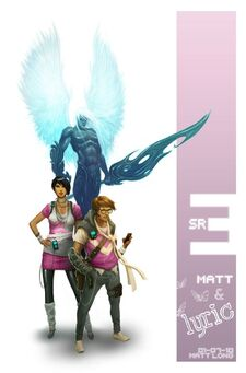 Early Matt Miller & Lyric Concept Art From Saints Row The Third