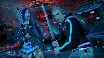 Saints Row The Third Deckers promo