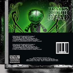 CD variant back - Track of the Dead