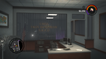 Police Headquarters - Chief Troy Bradshaw reception