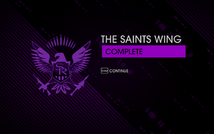 The Saints Wing complete