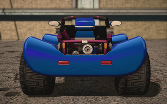 Saints Row IV variants - Mongoose Mascot - rear