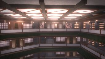 Tohoku Towers - top floor