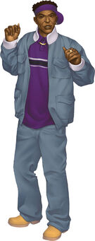 Saints Row character promo - Dex