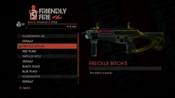Weapon - Rifles - Burst Rifle - Guardsman AR - Freckle Bitch's