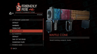 Weapon - Explosives - RPG - J7 Rocket Launcher - Waffle Cone