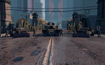 SRTT Roadblock - Police level 5 - large