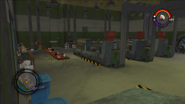 File:Drug Factory interior main room view from the north east corner in Saints Row.png