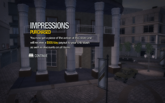 Impressions in Nob Hill purchased in Saints Row 2