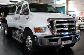 Compensator - Ford F650 in real life