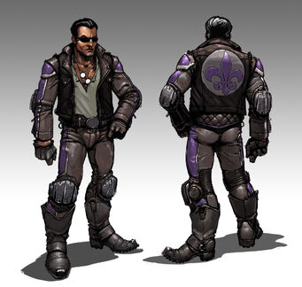 Johnny Gat Concept Art - Gat out of Hell - heavy jacket