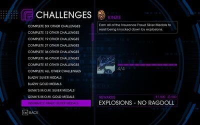 Challenge 14 Insurance Fraud Silver Medals
