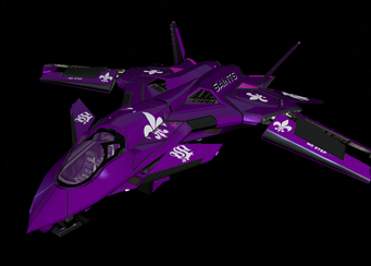 Saints VTOL - Saints Row The Third Garage