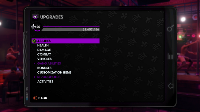 File:Upgrades menu in Saints Row The Third.png