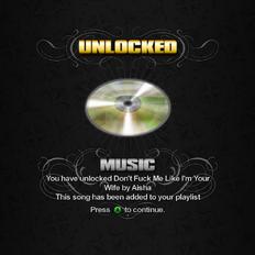 Saints Row unlockable - Music - Don't Fuck Me Like I'm Your Wife