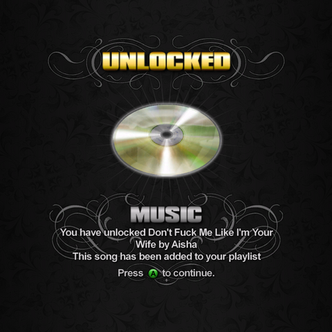 File:Saints Row unlockable - Music - Don't Fuck Me Like I'm Your Wife.png