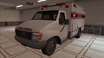 Saints Row variants - Ambulance - front left