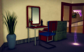 Hotel Penthouse - Ultra Modern - desk