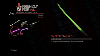 Weapon - Melee - Energy Sword - Main