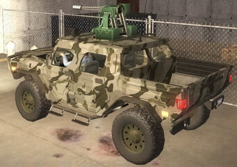 Bulldog - Military turret - rear left in Saints Row 2