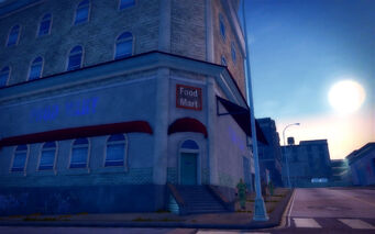 Poseidon Alley in Saints Row 2 - Food Mart