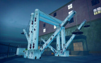 Fox Drive in Saints Row 2 - dock equipment