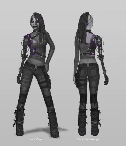 File:Future Shaundi Concept Art - 2 versions.jpg