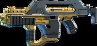 SRIV Rifles - Burst Rifle - Impulse Rifle - Black Gold