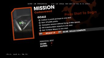 Saints Row Money Shot Mission objectives - Corkscrewed