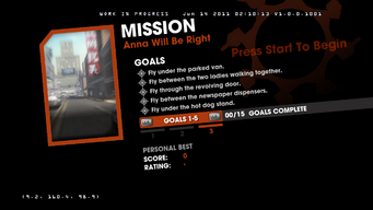 Saints Row Money Shot Mission objectives - Anna Will Be Right Back - 3 of 3 goals screen