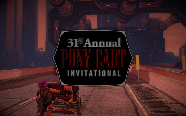 File:At the Races - 31st Annual Pony Cart invitational logo.png