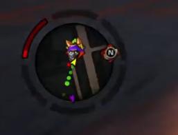 Dex icon on radar