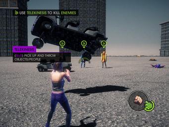 Power Up CID - Use Telekinesis to kill Enemies objective