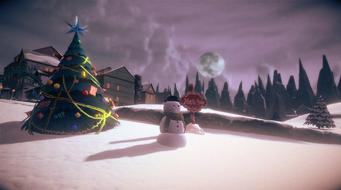 North Pole - snowman