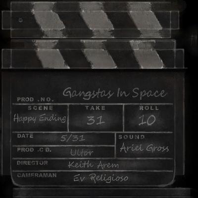 Gangstas in Space - slate clapper
