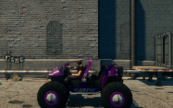 Saints Raider - left in Saints Row The Third