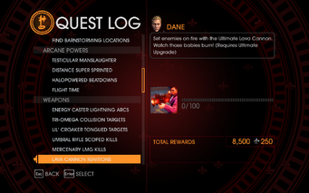 Gat out of Hell Challenge - Lava Cannon Ignitions