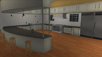 Price Mansion - kitchen