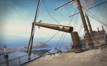 Shipwreck Cove - mast