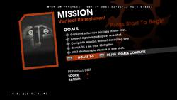 Saints Row Money Shot Mission objectives - Vertical Refreshment