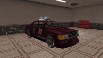 Saints Row variants - Taxi - TNA B - front right