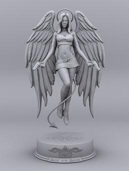 Saint of all Saints concept art - Saints Row 2 textured
