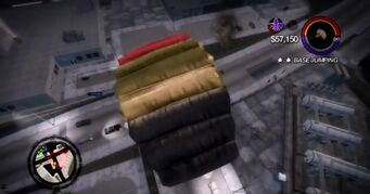Base Jumping in Saints Row 2