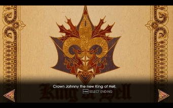 Gat out of Hell - Ending - Crown Johnny the new King of Hell