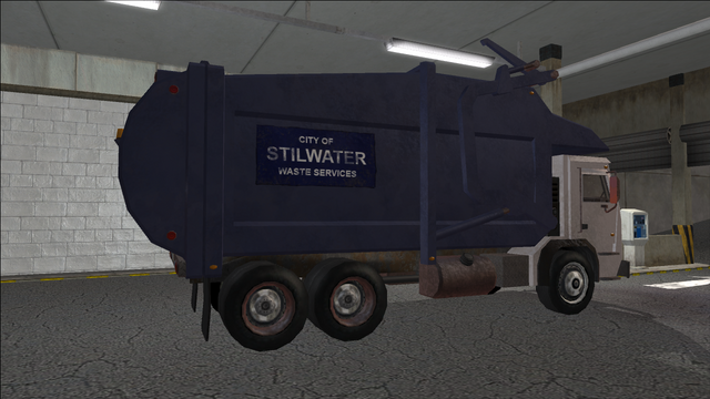 File:Saints Row variants - Stilwater Municipal - Garbage Truck - rear right.png