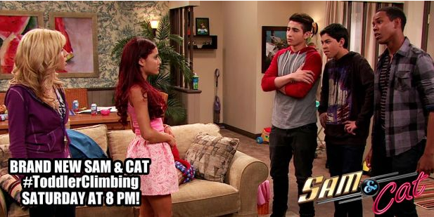 Sam and Cat confront their new Sam And Cat Bedroom - Sam And Cat Bedroom