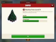 Festive tree level 9