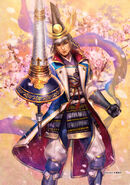 Nagamasa Azai SW4 Artwork