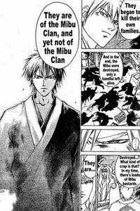Mibu Clan past